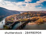View Of Harper's Ferry And The...