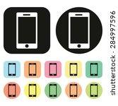 smart phone icon. vector