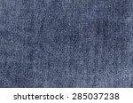dark blue jeans texture denim...   Shutterstock . vector #285037238