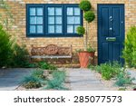 front of english house | Shutterstock . vector #285077573