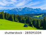 View Of Tatra Mountains In...