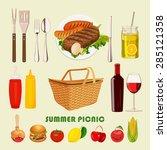 vector illustration family... | Shutterstock .eps vector #285121358