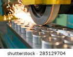 metalworking industry ... | Shutterstock . vector #285129704