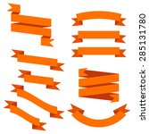 set of banners | Shutterstock .eps vector #285131780
