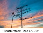Televisions Antennas With...