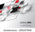 eps10 vector abstract circuit... | Shutterstock .eps vector #285207848