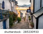 Narrow Cobbled Streets Lined...