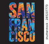 San Francisco Typography  T...