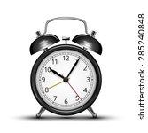 classic design black alarm... | Shutterstock .eps vector #285240848