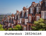 Brick Houses On A Panoramic...