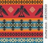 eagles ethnic geometric tribal... | Shutterstock .eps vector #285250010