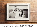 fathers day composition  ... | Shutterstock . vector #285262760
