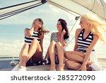 vacation  travel  sea ... | Shutterstock . vector #285272090