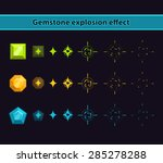 gemstone explosion effect ...