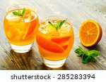 Cocktail. Orange Juice With ...