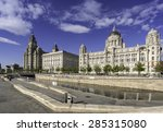 The Three Graces On Liverpool'...