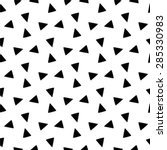 black and white geometric... | Shutterstock .eps vector #285330983