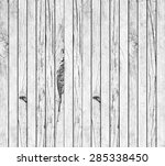 old vintage white wood... | Shutterstock . vector #285338450