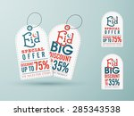 sale tags with special discount ... | Shutterstock .eps vector #285343538