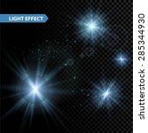 Set Of  Glowing Light Effect...