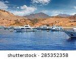 sea port of sharm el sheikh ... | Shutterstock . vector #285352358