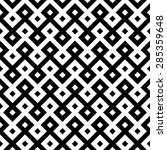 monochromatic ethnic seamless... | Shutterstock .eps vector #285359648