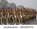 india  delhi  20 january 2007 ... | Shutterstock . vector #285369374