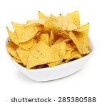 potato chips on the table | Shutterstock . vector #285380588