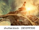 the eiffel tower is one of the... | Shutterstock . vector #285399500