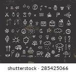 icons vector | Shutterstock .eps vector #285425066