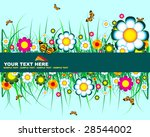 floral background | Shutterstock .eps vector #28544002