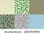 vector illustration with set of ... | Shutterstock .eps vector #285454958