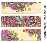 Paisley Floral Batik Backgroun...