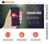 responsive simple landing page  ...