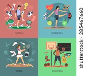 Sport People Design Concept Se...