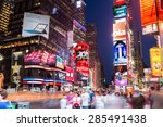 new york city  ny   jun 24 ... | Shutterstock . vector #285491438