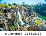 The Big Pongour Waterfall Near...