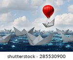 business advantage concept and...   Shutterstock . vector #285530900