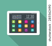 tablet ui application icons