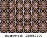 abstract geometric  ethnic... | Shutterstock .eps vector #285563300