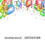 celebratory background white...   Shutterstock .eps vector #285569288