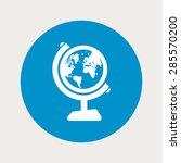 globe icon. | Shutterstock .eps vector #285570200