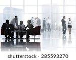 business people meeting...   Shutterstock . vector #285593270