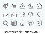 linear internet icon