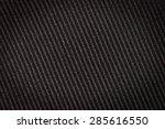 black textured background  high ...   Shutterstock . vector #285616550