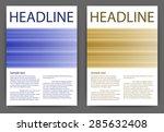 abstract design vector template ... | Shutterstock .eps vector #285632408