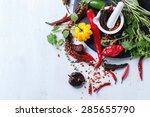 Assortment Of Fresh  Dryed And...