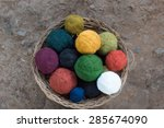 Multicolour Natural Silk Yarn ...