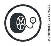 car manometer icon.  | Shutterstock .eps vector #285675233