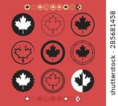 Canadian Silhouette Maple Leaf...